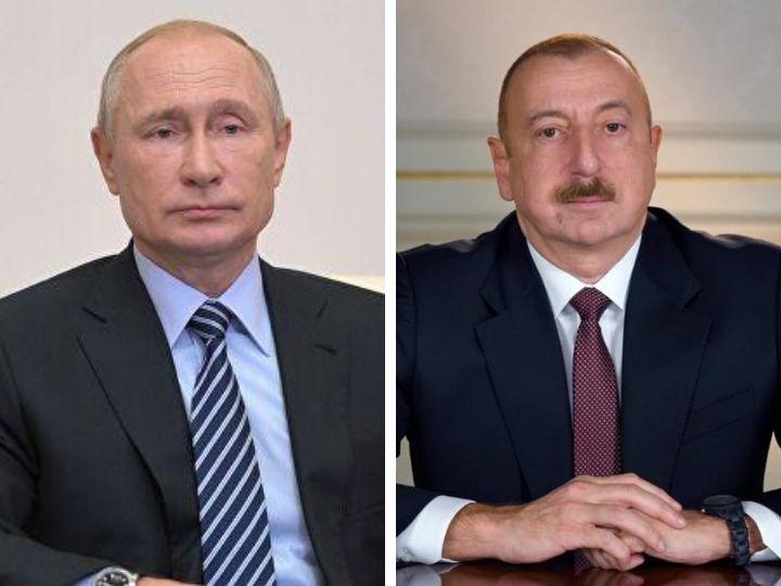 Ильхам Алиев - Путину: Россия поставила в Армению более 400 тонн военных грузов и это вызывает вопросы у общественности