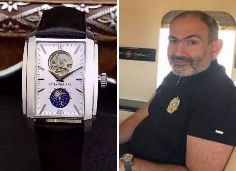 Часы на миллион: Пашинян «засветил» свой Patek Philippe – ФОТО