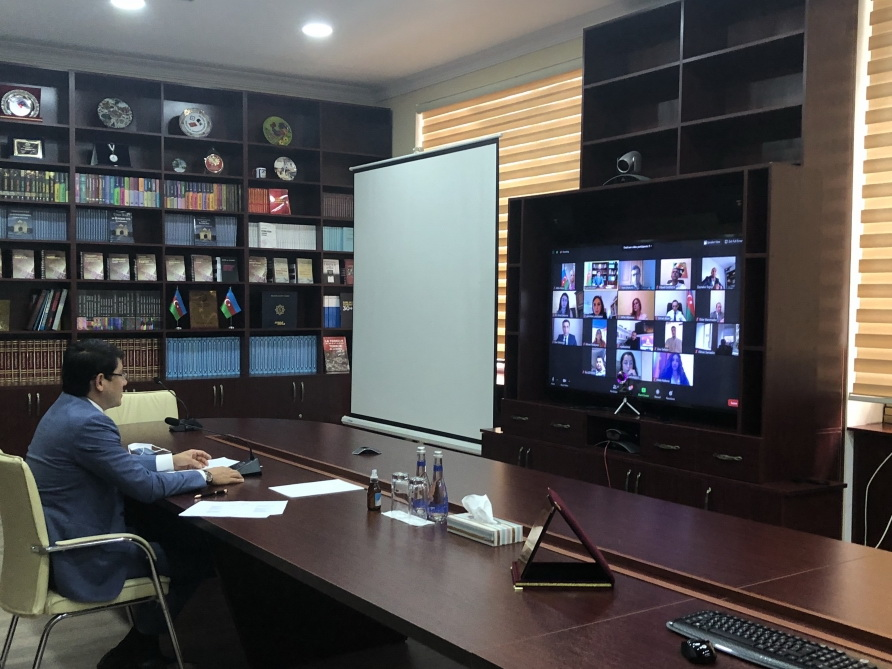 Проведена видеоконференция Координационного совета азербайджанцев Франции
