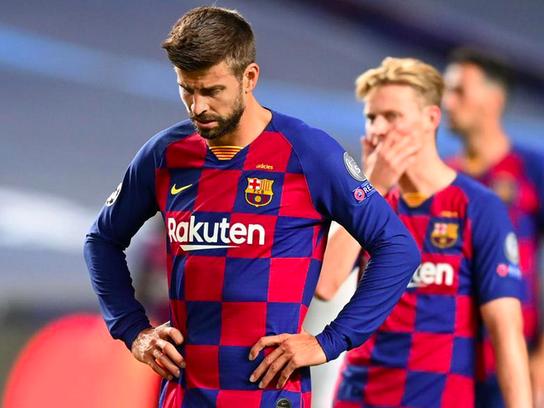 Пике: мы достигли дна. «Барселона» нуждается в кардинальных изменениях