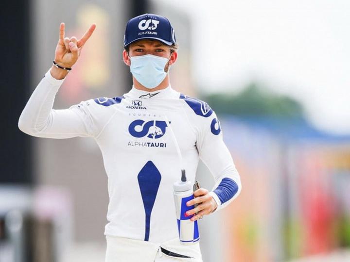 Гасли впервые в карьере выиграл Гран-при «Формулы-1»