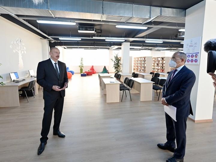 Президент Ильхам Алиев: Сегодня мы видим на примере Сумгайытского химического промышленного парка обновляющийся, усиливающийся Азербайджан