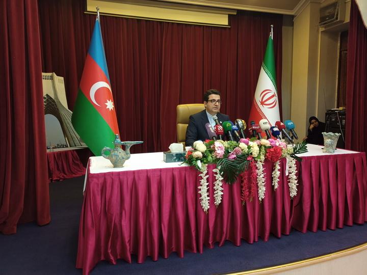 Посол: Иран опровергает информацию о поставках через свою территорию вооружения в Армению