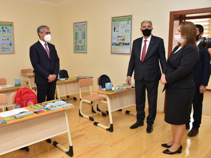 Фондом Гейдара Алиева сдаются в эксплуатацию 62 учебных заведения - ФОТО