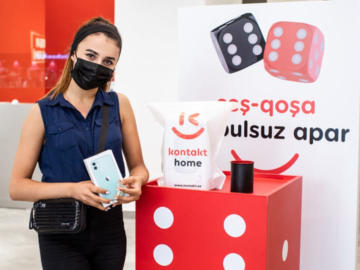 1000-й покупатель KONTAKT HOME выиграл iPHONE в кампании «Шеш-Гоша»