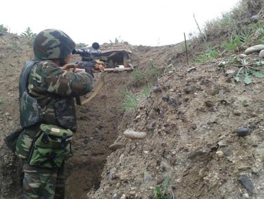 Tovuzda atışma: erməni əsgəri öldürüldü