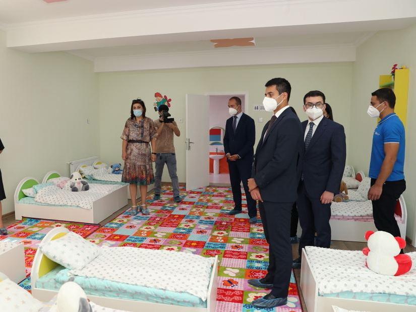 В Хазарском районе Баку состоялось открытие детсадов, построенных Фондом Гейдара Алиева - ФОТО