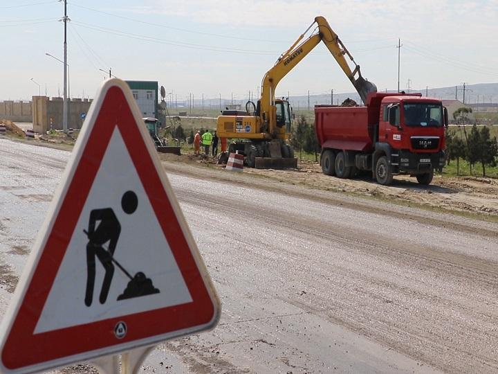Pirallahıda yolların yenidən qurulmasına 1,4 milyon manat ayrılıb - Sərəncam