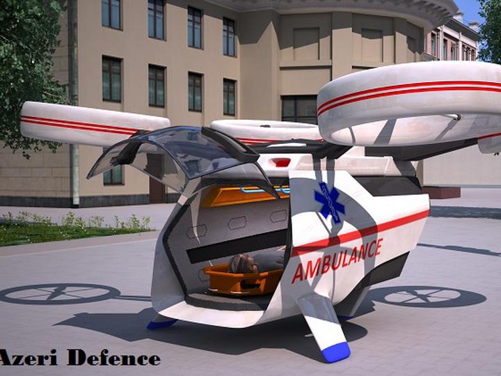 Впервые в Азербайджане разрабатывается дрон скорой помощи – ФОТО