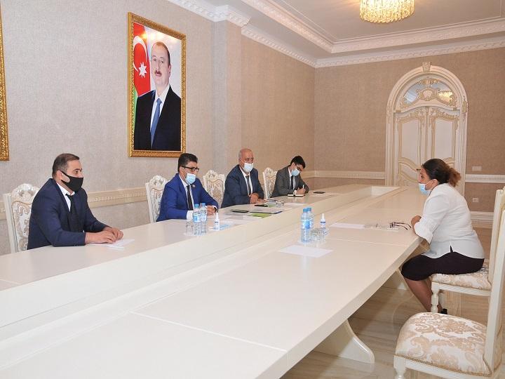Deputat Şahin Seyidzadə vətəndaşlarla qəbul keçirib – FOTO
