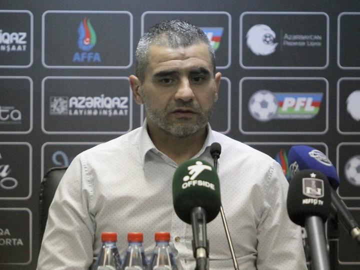 Физули Мамедов: «Футболисты, выступающие за «Нефтчи», не должны допускать таких детских ошибок»