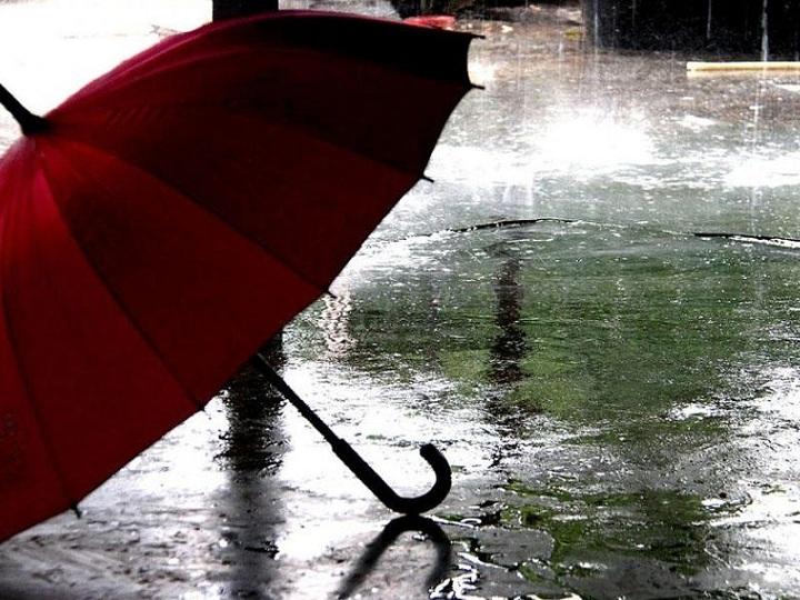 Sabahın havası: yağış, dolu, külək