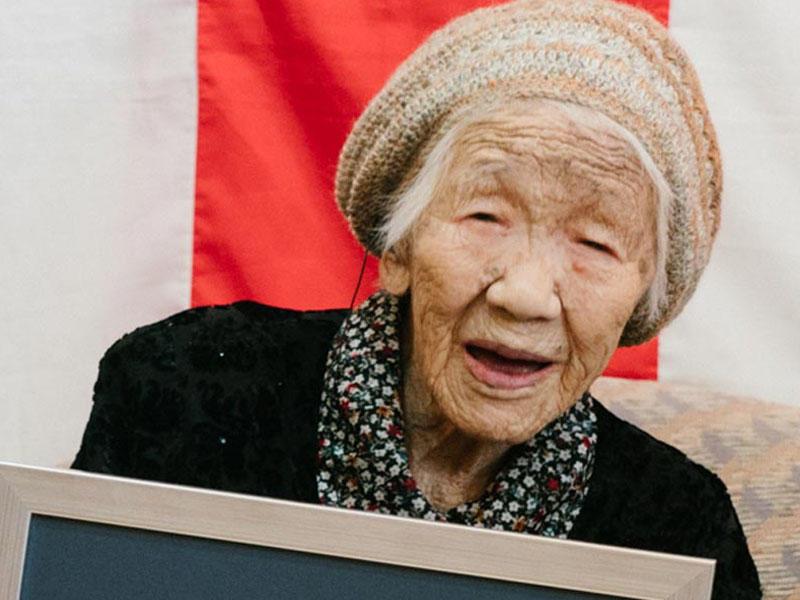 Dünyanın ən yaşlı qadını uzunömürlülük rekordu vurub