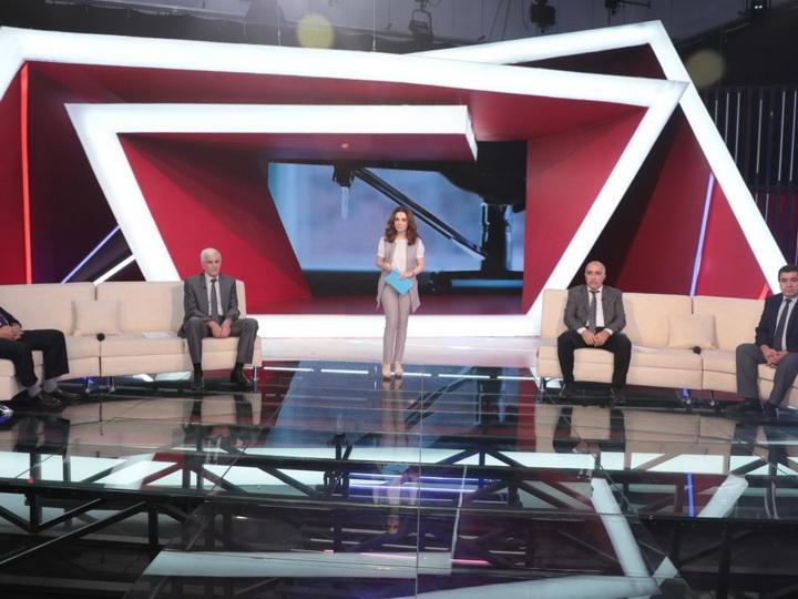 На телеканале AzTV обсудили вопросы работы в сфере водоснабжения - ФОТО - ВИДЕО