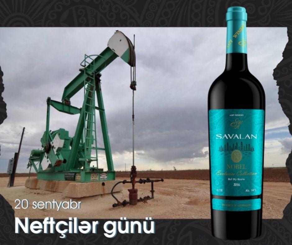 Ко Дню нефтяников Savalan презентует новое вино Nobel Exclusive Collection 2016 г – ФОТО
