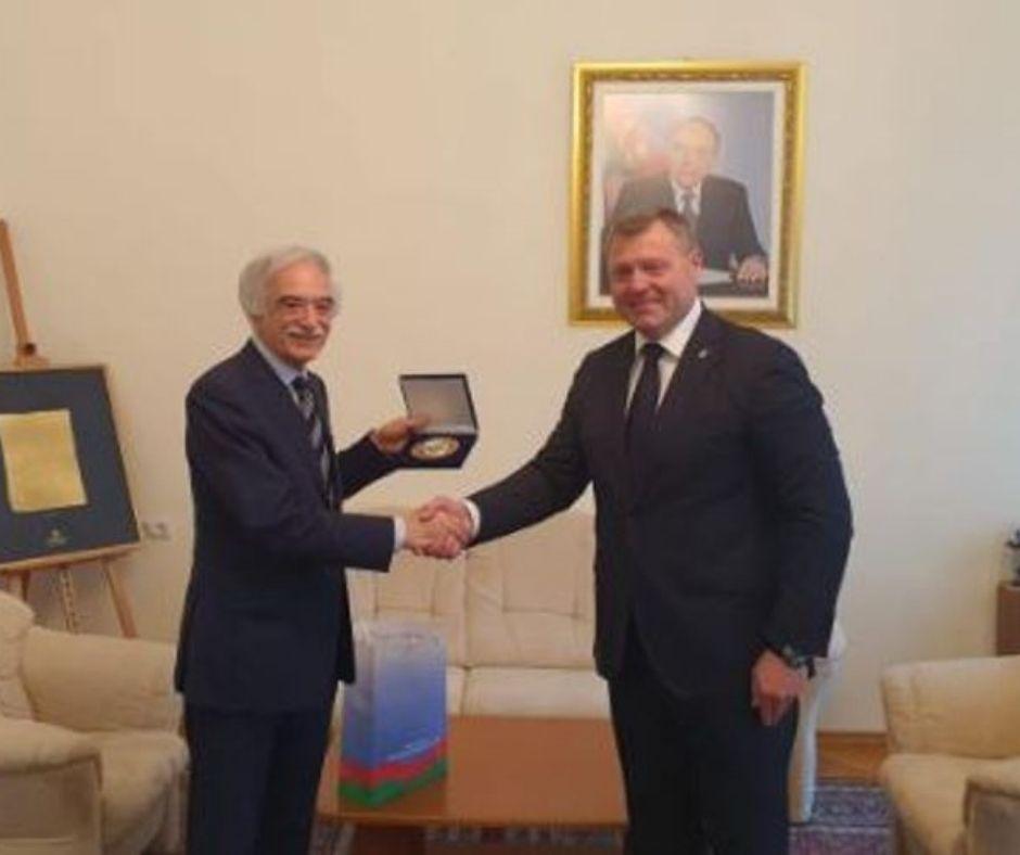 Полад Бюльбюльоглу встретился с губернатором Астраханской области РФ - ФОТО