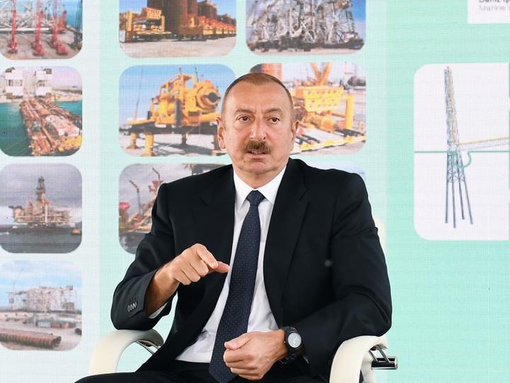 Ильхам Алиев: «Грузия не позволила перевозить через свою территорию оружие в Армению»