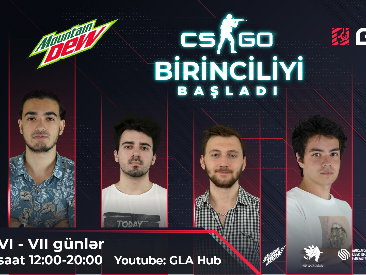 Впервые в Азербайджане: Виртуальное первенство по CS