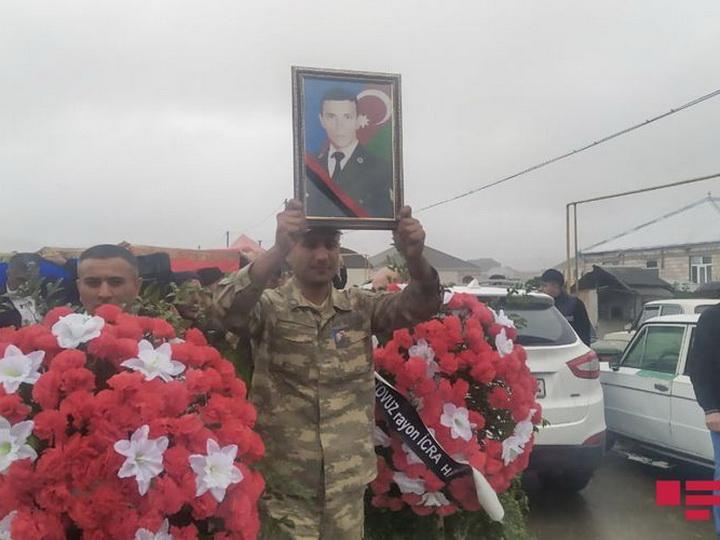 Погибший сержант Азербайджанской армии похоронен в родном селе – ФОТО