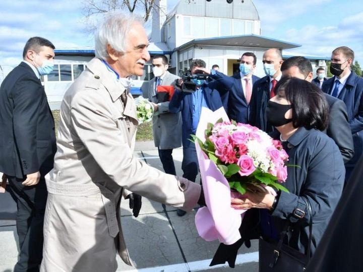 Председатель Милли Меджлиса находится с официальным визитом в России - ФОТО