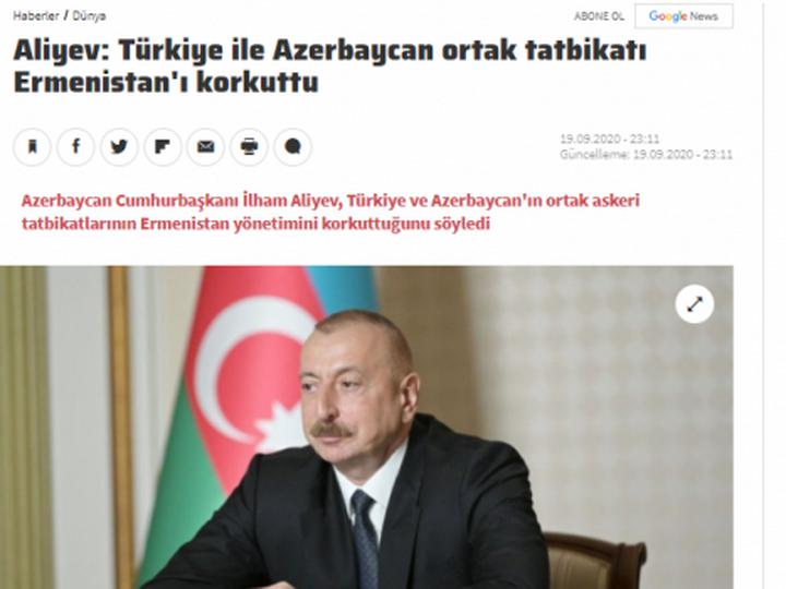 Ведущие мировые СМИ широко осветили интервью Президента Азербайджана Ильхама Алиева - ФОТО