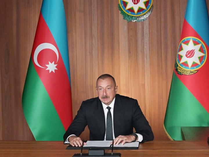Президент Ильхам Алиев: Продолжающаяся сегодня пандемия COVID-19 еще раз демонстрирует важность мультилатерализма - ФОТО