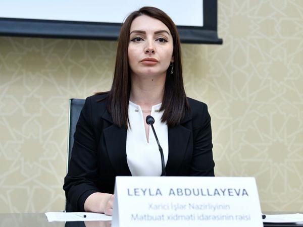 Лейла Абдуллаева: Ереван продолжает накалять ситуацию, саботируя переговорный процесс