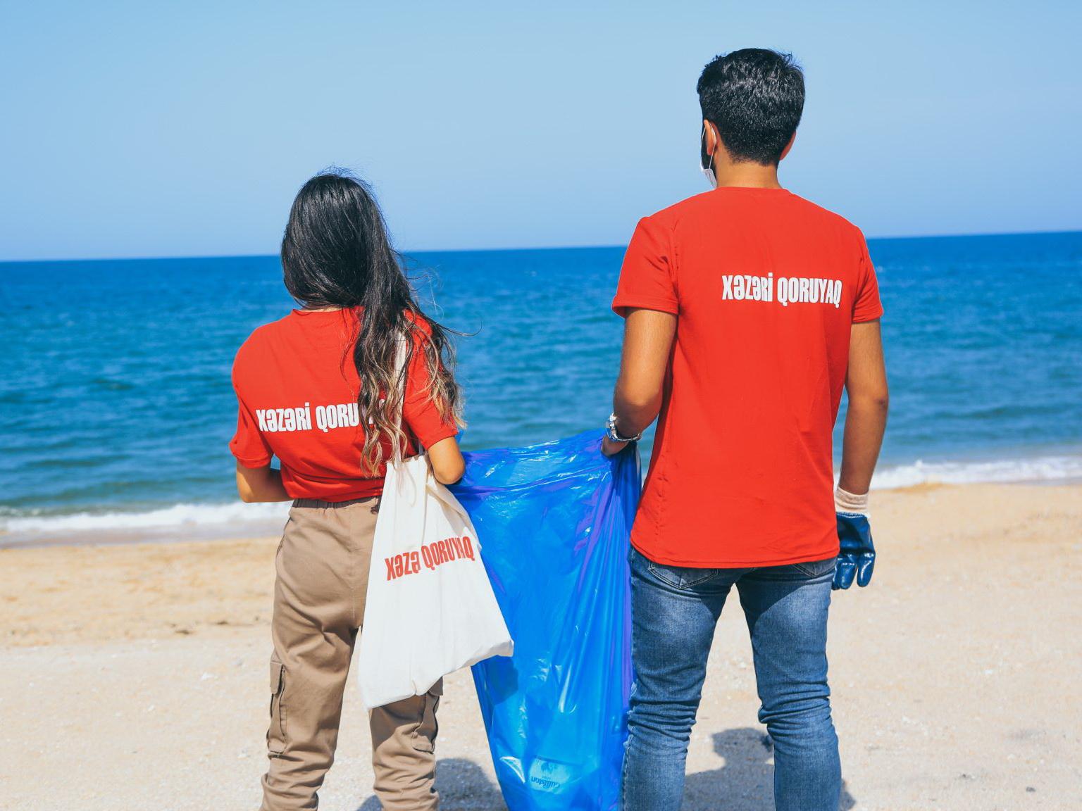 «Защитим Каспий» при поддержке Bakcell и партнеров - ФОТО