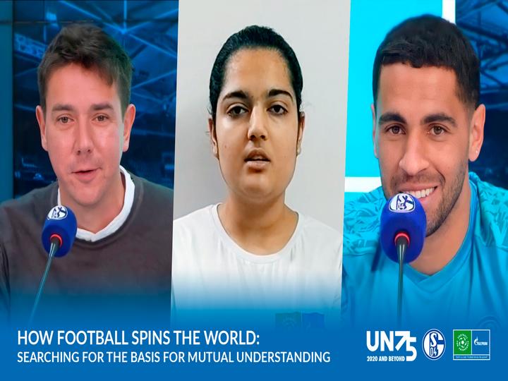 Футболисты ФК «Шальке 04» встретились с юными послами «Футбола для дружбы» в честь Международного дня мира