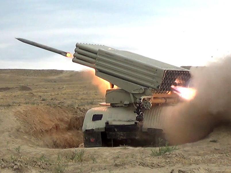 Артиллерийские подразделения провели учения с боевой стрельбой - ФОТО - ВИДЕО