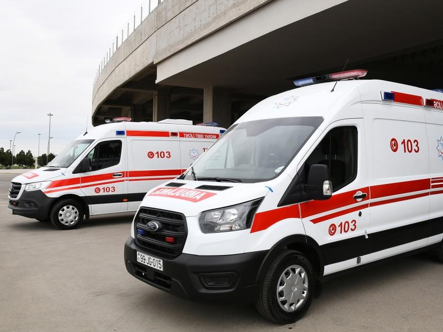 Нахчыванской Автономной Республике переданы автомобили скорой помощи от имени Президента страны