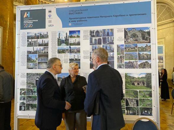 Архитектурный проект, отражающий современное состояние памятников в оккупированном Карабахе, представлен на международном форуме «Наследие» – ФОТО