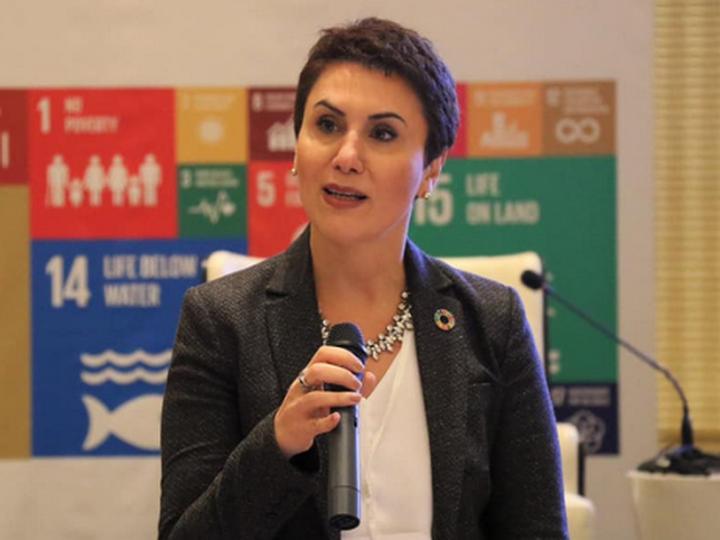 Шамс Мустафаева: «Я сделаю все возможное, чтобы преодолеть гендерный разрыв в нашей стране» - ФОТО