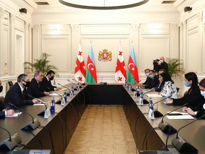Джейхун Байрамов проинформировал президента Грузии о последних провокационных действиях руководства Армении - ФОТО