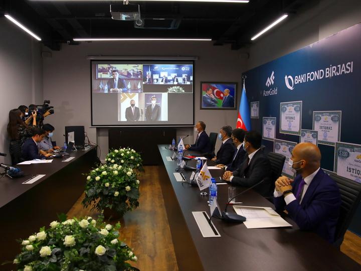 Министр экономики Микаил Джаббаров ознакомился с месторождениями железа «Дашкесан» и золота «Човдар» - ФОТО