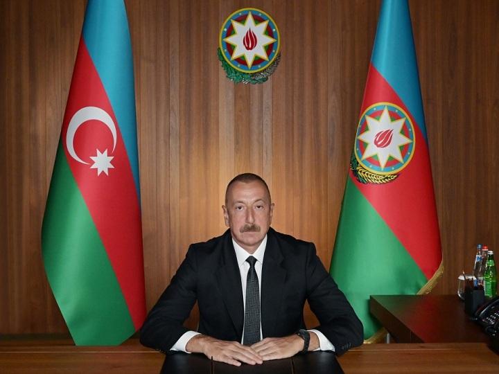 Prezident İlham Əliyev BMT Baş Assambleyasının 75-ci sessiyasının ümumi debatlarında videoformatda çıxış edib - FOTO