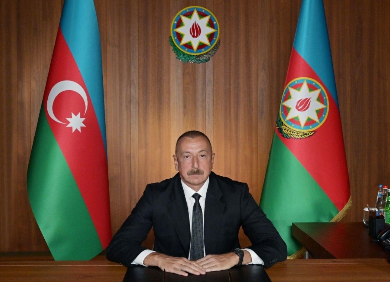 Ильхам Алиев призвал все страны воздержаться от поставок оружия в Армению