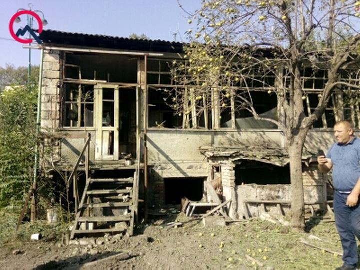 Разрушительные последствия армянского обстрела азербайджанского города Тертер – ФОТОФАКТ
