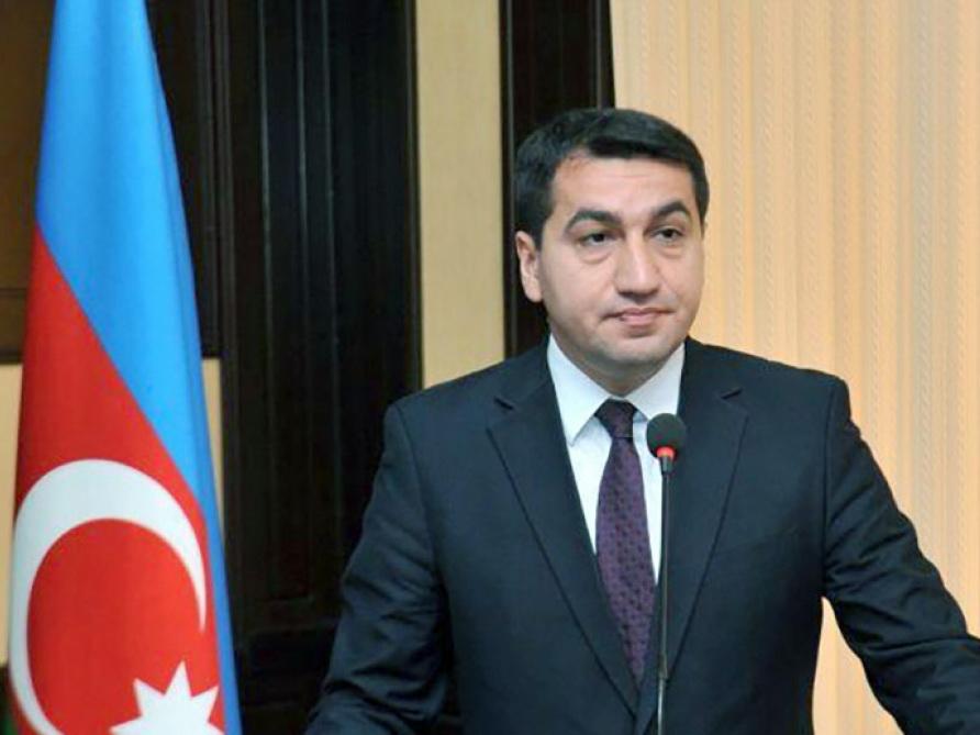 Хикмет Гаджиев: Вся ответственность за сложившуюся ситуацию и дальнейшее развитие событий лежит на руководстве Армении