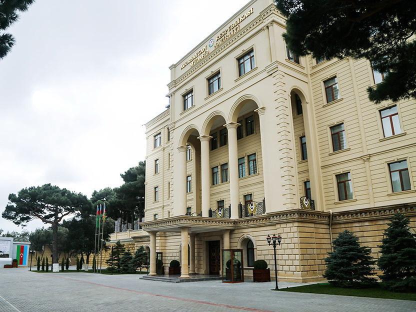 Минобороны: Информация армянской стороны об уничтожении танков, вертолётов и БПЛА Азербайджанской Армии является ложью