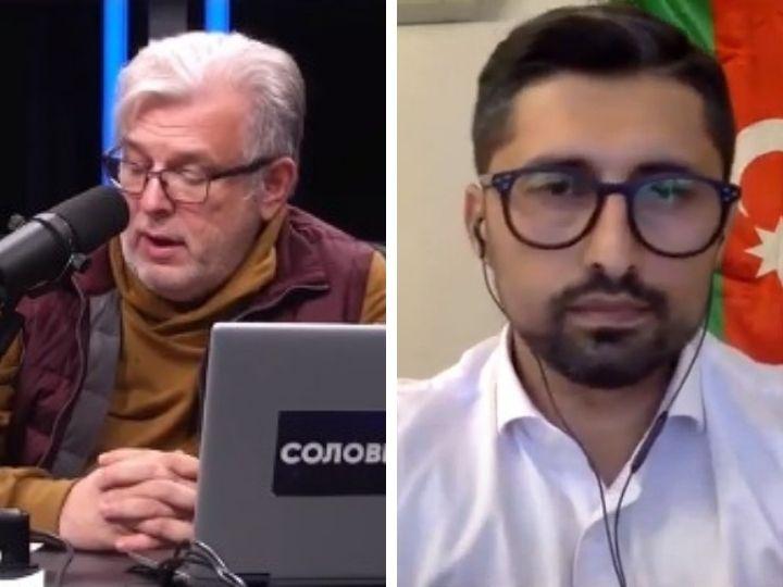 Рахман Гаджиев в эфире «Соловьев LIVE»: объективный ответ на вопрос «Что происходит в Карабахе?» - ВИДЕО