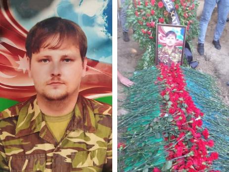Похоронен русский молодой человек, добровольно воевавший за свою родину Азербайджан – ФОТО