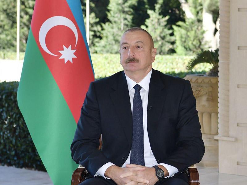 Ильхам Алиев - об условиях прекращения боевых действий