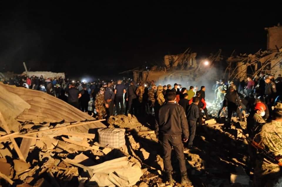 Ermənistanın atəşi nəticəsində Gəncədə 5 dinc sakin həlak olub, 35 nəfər yaralanıb