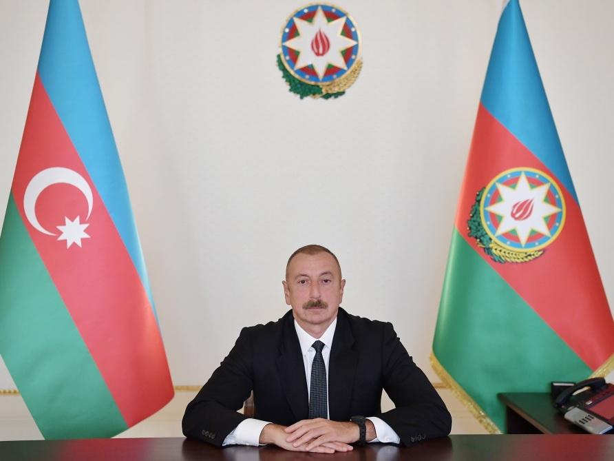 Президент Азербайджана Ильхам Алиев обратился к народу - ВИДЕО