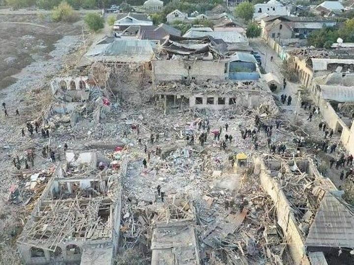 Погибшие в результате армянской агрессии жители Гянджи и Нафталана будут считаться шехидами