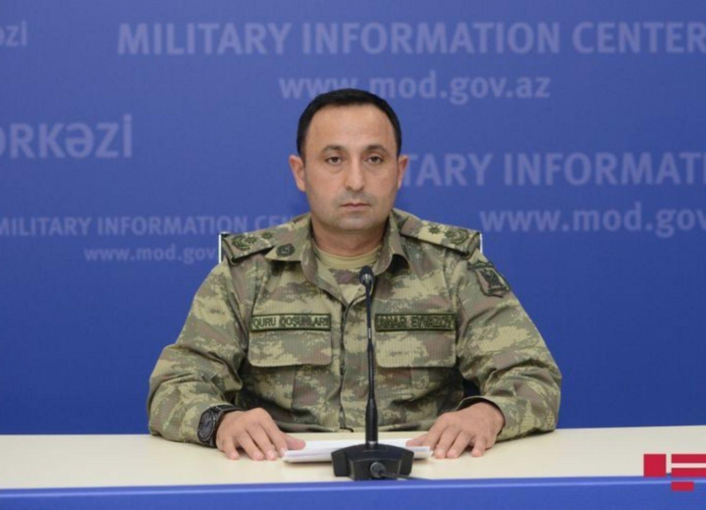 Представитель Минобороны Азербайджана: Противнику сделано предупреждение