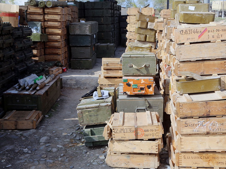 На Физулинском направлении Азербайджанская Армия взяла трофеи у противника – ФОТО – ВИДЕО