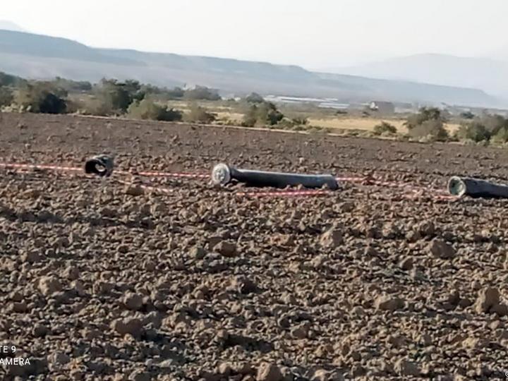 ANAMA: Территория в Хызы расчищается от обломков выпущенной армянами ракеты С-300