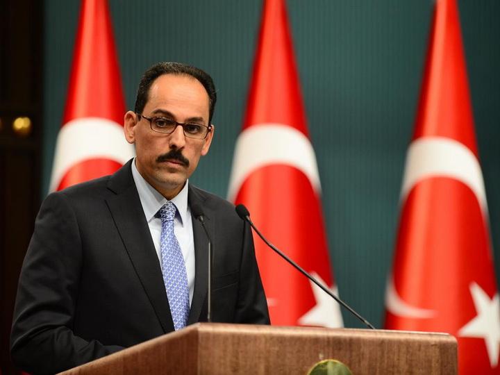 Ибрагим Калын: «Турция и Азербайджан будут бороться с любой угрозой»